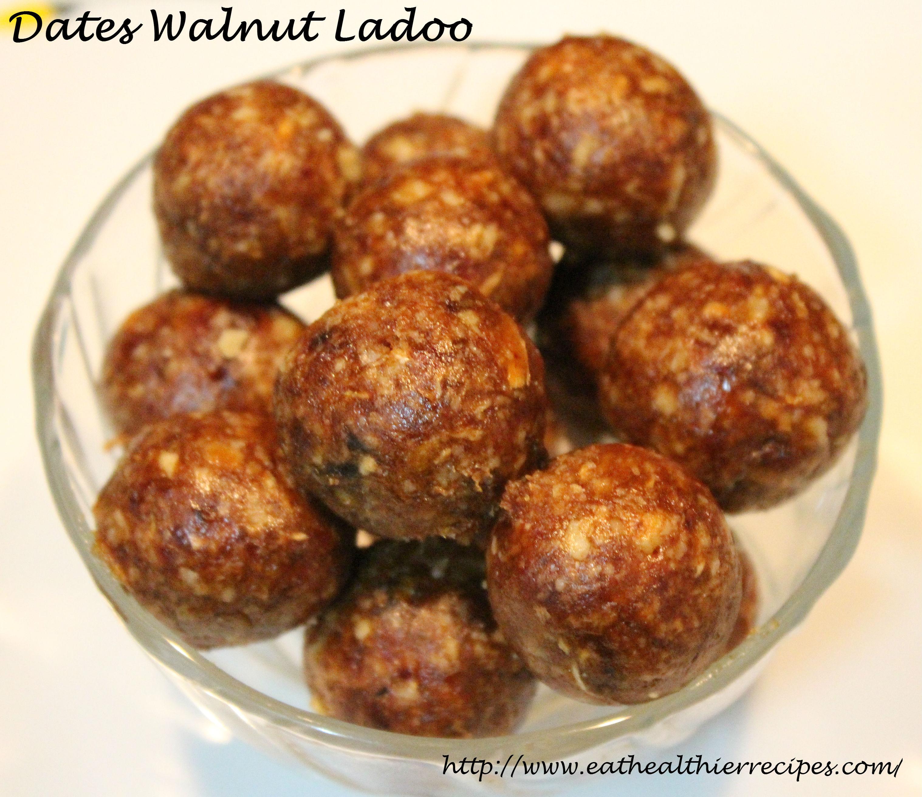 Dates Walnut Ladoo