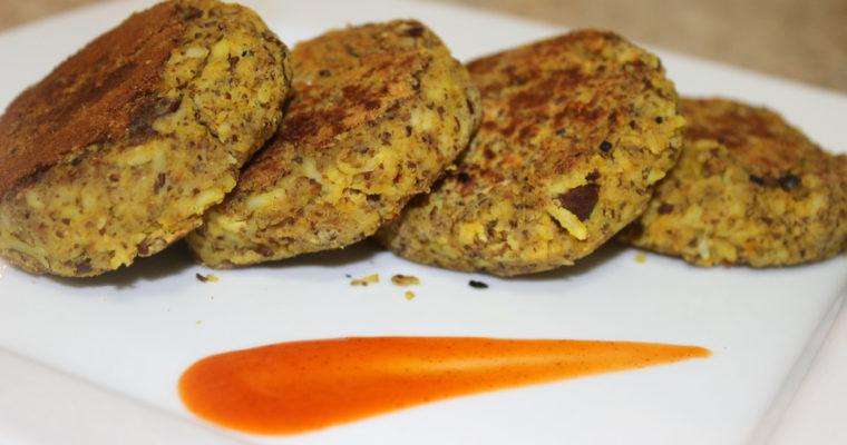 Kala Channa Paneer Kabab