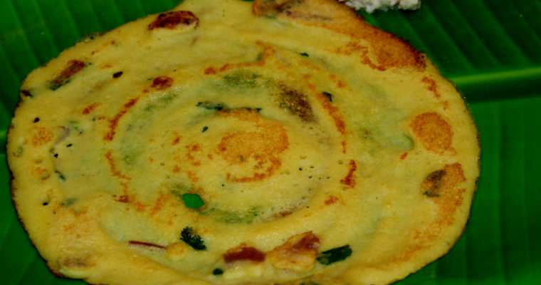 Adai Dosa | Mixed Lentil Crepe (Version 1)