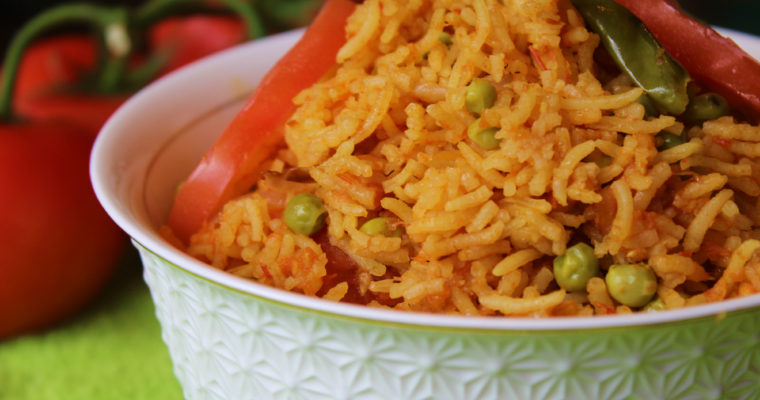 Tomato Rice   Tomato Pulao