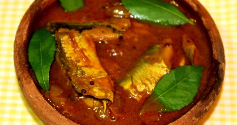 Sardines Fish Curry/ Mathi Meen Kulambu