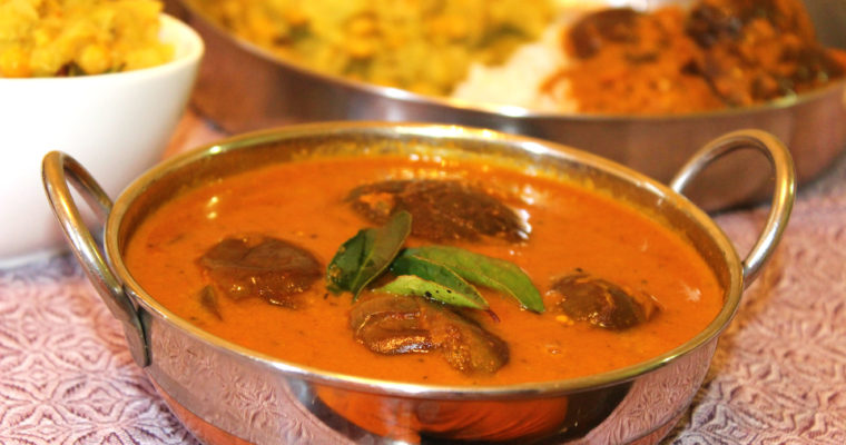 Ennai Kathirikai Kulambu | Traditional South Indian Egg Plant Curry